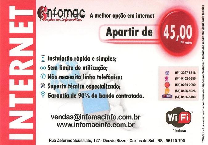 Infomac - A melhor opção em internet