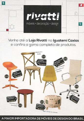 Rivatti - A MAIOR IMPORTADORA DE MÓVEIS DE DESIGN DO BRASIL